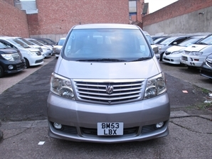 TOYOTA ALPHARD Automatic 8 Seater MPV 4WD Both Electric Doors 2.4 L