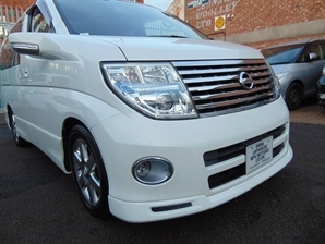 2006 NISSAN ELGRAND 4WD Highway Star 3.5 V6 LEATHER SUNROOF Curtain / Cruise