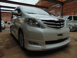 2009 TOYOTA ALPHARD BUSINESS EDITION FRESH FACELIFT MODEL Cruise SUNROO