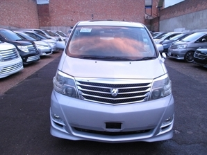 TOYOTA ALPHARD G AS 2.4 Automatic  MPV Silver Estima Previa Elgrand Twin Sunroof