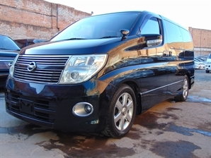 2008 (08) NISSAN ELGRAND Highway Star 3.5 V6 Automatic BLACK LEATHER SERIES 3